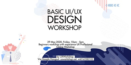 UI/UX Design for Beginners tickets
