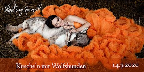 """Shooting Special """"Kuscheln mit Wolfshunden"""" Tickets"""