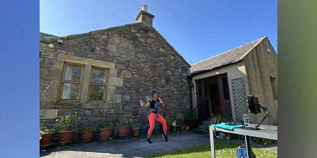 Virtual Zumba Class with Sofia - Livestream from the Scottish countryside! (To sign-up go to bookwhen.com/sofiaqureshi) tickets