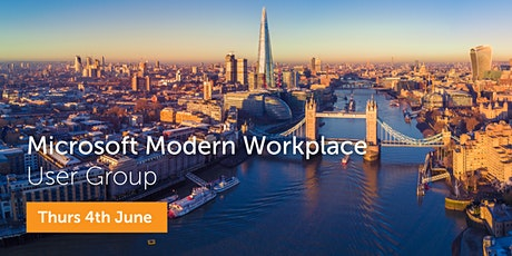 Microsoft Modern Workplace User Group - June 2020 tickets