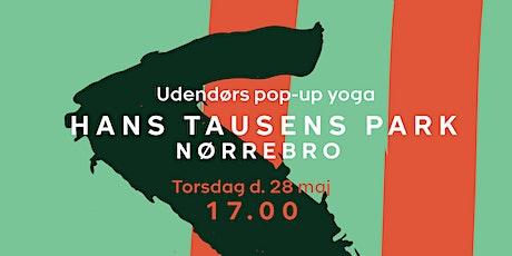 Pop-up Yoga - Hans Tausens Park - torsdag d. 28 maj kl. 17.00 tickets