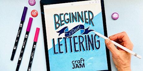 Beginner iPad Lettering WebJam 1 + 2 tickets