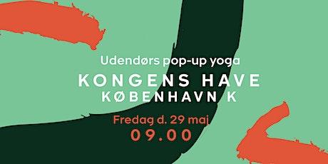 Pop-up Yoga - Kongens Have - fredag d. 29 maj kl. 09.00 tickets
