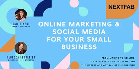 Online Marketing & Social Media for Your Small Business tickets