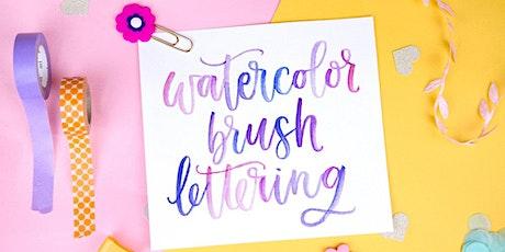 Watercolor Brush Lettering WebJam 1 + 2 ingressos