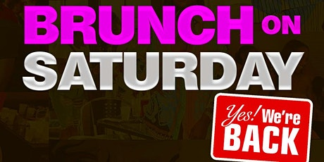 Brunch on Saturday tickets