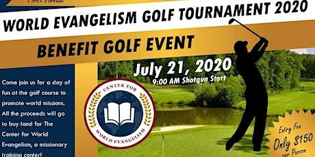 World Evangelism Golf Tournament tickets