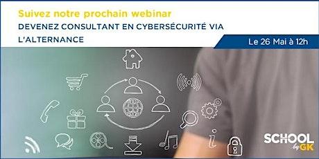 Webinar : Devenez consultant en Cybersécurité via l'alternance tickets
