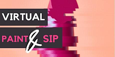 Virtual Paint & Sip tickets