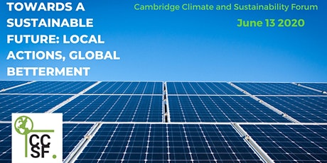 Towards a Sustainable Future: Local Actions, Global Betterment tickets