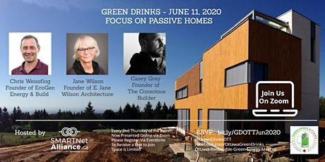 Green Drinks June On Zoom - Focus on Passive Homes  tickets