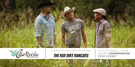 "Night on the Lawn // Featuring: ""The Red Dirt Rangers"" tickets"