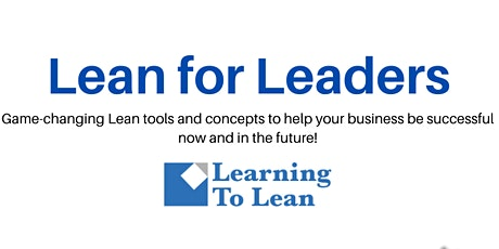 Lean for Leaders tickets