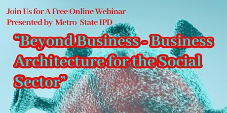 Beyond Business - Business Architecture for the Social Sector tickets
