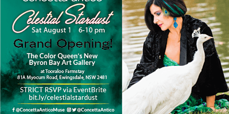 GRAND OPENING! The Color Queen's Gallery @Tooraloo Farm! tickets