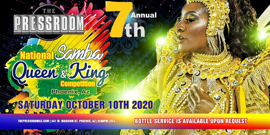7th Annual National Samba Queen & King Competition