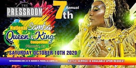 7th Annual National Samba Queen & King Competition @ The Pressroom tickets