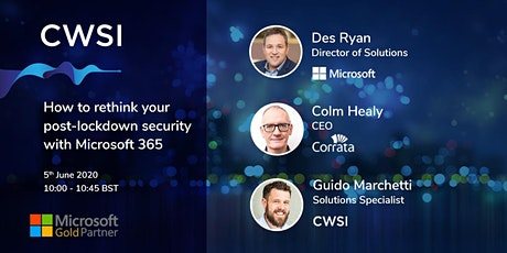 How to rethink your post-lockdown security with Microsoft 365 tickets