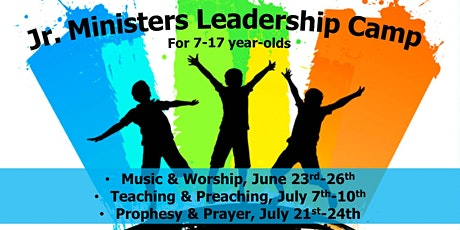 Jr. Ministers Leadership Camp tickets