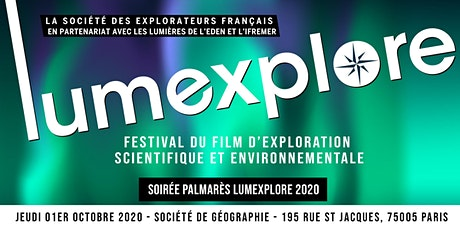 Soirée Palmarès Lumexplore 2020 billets