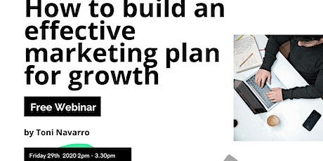 How to build an effective marketing plan for growth with Toni tickets