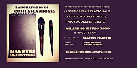 LABORATORIO DI COMUNICAZIONE by Letizia Maestri makeup coach biglietti