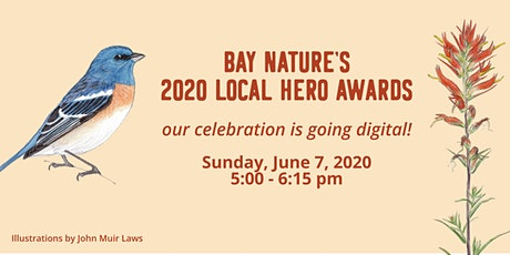 Bay Nature's 2020 Local Hero Awards tickets