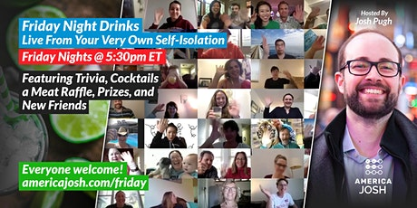 Friday Night Drinks: Live From Your Very Own Self-Isolation tickets