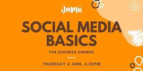 Social Media Basics for Business Owners tickets