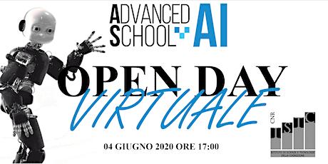 Open Day di Orientamento- Advanced School in Artificial Intelligence biglietti