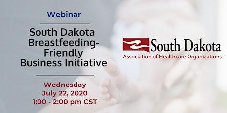 Webinar: South Dakota Breastfeeding-Friendly Business Initiative tickets