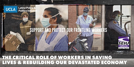 The Role of Workers in Saving Lives & Rebuilding Our Devastated Economy tickets