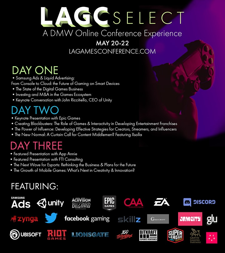 LAGC Select - A DMW Online Conference Experience image