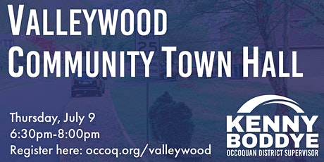 Town Hall: Traffic Calming in Valleywood tickets