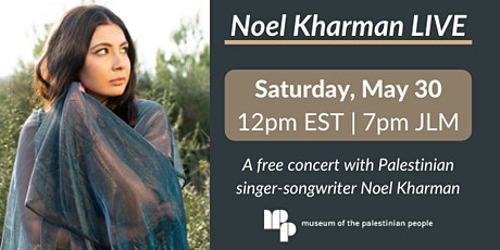 LIVE Concert with Noel Kharman Tickets