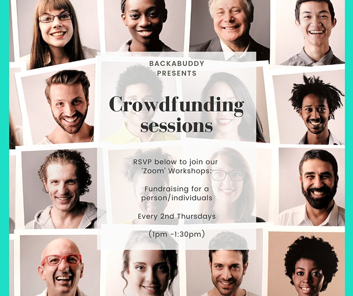 Online Crowdfunding Workshop: Raising Funds for a person/cause image