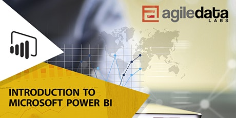Introduction to Microsoft Power BI - Live Online (4 Days) tickets