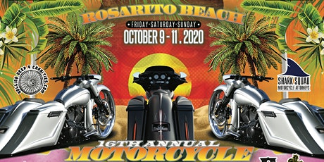 16th Annual Rosarito Beach Motorcycle Run tickets