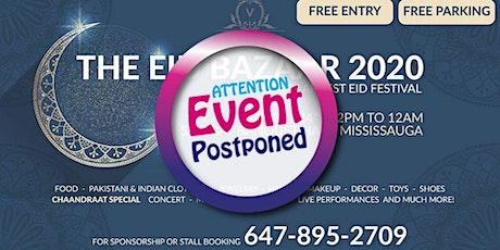 The Eid Bazaar 2020 & Chaandraat Celebrations tickets