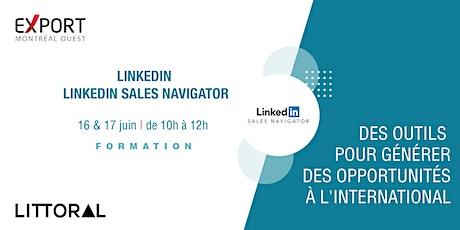 Formation – LinkedIn & LinkedIn Sales Navigator billets