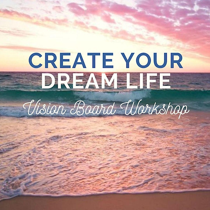 Create Your Dream Life Digital Vision Board Workshop (In-Home Day Retreat) image