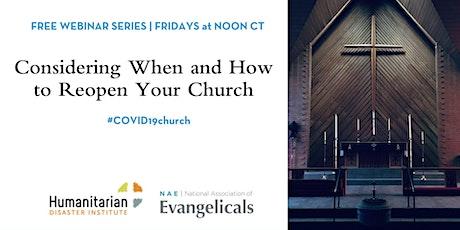 #COVID19 Church Weekly Webinar Series tickets
