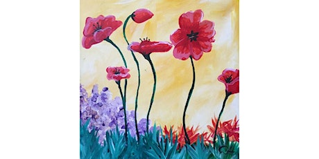 """Popping Poppies"" - Sunday, June 7th, 12:30PM, $25 tickets"