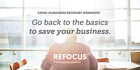 Refocus: A CO.STARTERS Workshop tickets