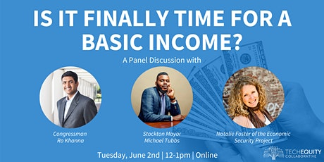Is It Finally Time for a Basic Income? tickets