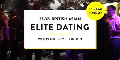 Elite British Asian Meet and Mingle, Dating Social - 27-37s | London tickets