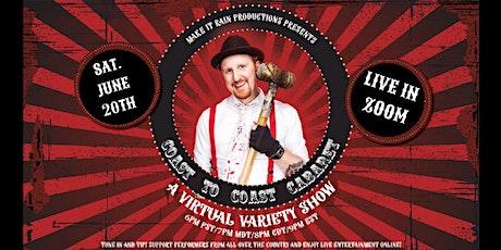 Coast to Coast Cabaret - Virtual Variety Show tickets