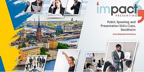 2-Day Stockholm IMPACT Presenting - Public Speaking tickets