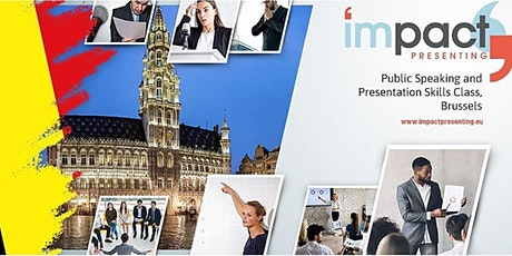 2-Day Brussels IMPACT Presenting - Public Speaking Class tickets