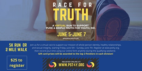 Pure  &  Simple Virtual Race for Truth tickets